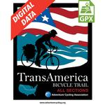 TransAm Map Set GPX Data