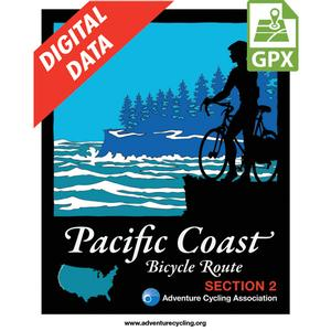 Pacific Coast Route Section 2 GPX Data