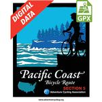 Pacific Coast Route Section 5 GPX Data