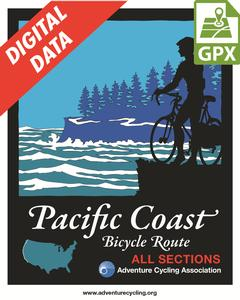 Pacific Coast Map Set GPX Data