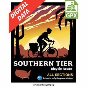 Southern Tier Map Set GPX Data