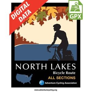 North Lakes Map Set GPX Data