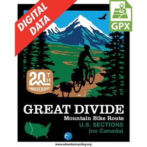 Great Divide Map Set - no Canada GPX Data