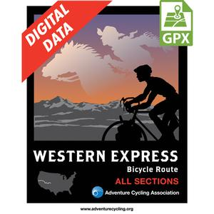 Western Express Map Set GPX Data