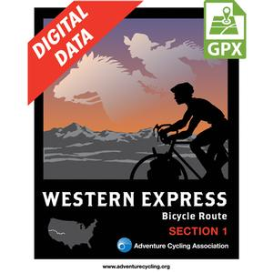 Western Express Route Section 1 GPX Data