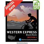Western Express Route Section 3 GPX Data