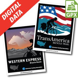 Western Express & Trans Am Map Set GPX Data
