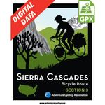 Sierra Cascades Section 3 GPX Data