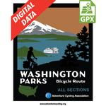 Washington Parks Map Set GPX Data
