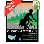 Chicago to New York City Philadelphia Alternate Section 2 GPX Data