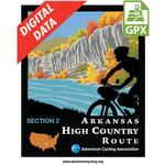 Arkansas High Country Route Section 2 North GPX Data