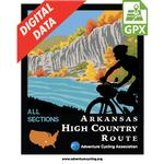Arkansas High Country Route Map Set GPX Data