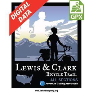 Lewis & Clark Map Set GPX Data