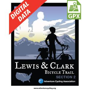 Lewis & Clark Section 2 GPX Data