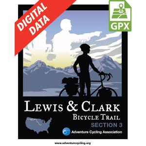 Lewis & Clark Section 3 GPX Data