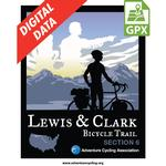 Lewis & Clark Section 6 GPX Data