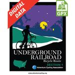 Underground Railroad Section 1 GPX Data