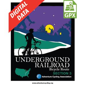 Underground Railroad Section 3 GPX Data