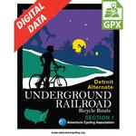 Underground Railroad Detroit Alternate Section 1 GPX Data