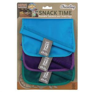 Chico Snack Time rePETe - Reusable Bag Set