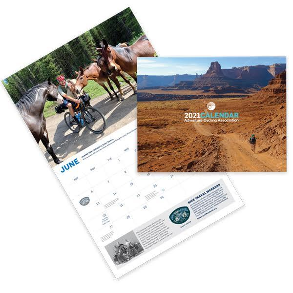 Adventure Cycling Association 2021 Calendar   Calendar | Adventure