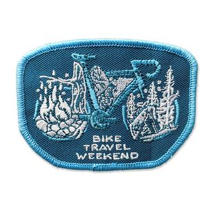 Adventure Cycling Association Bike Travel Weekend Patch