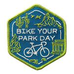 Adventure Cycling Association Bike Your Park Day Patch