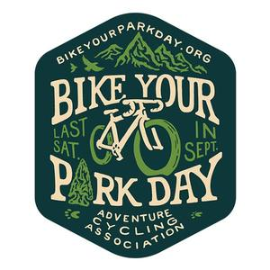 Adventure Cycling Association Bike Your Park Day Sticker (10-pack)