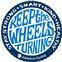 Adventure Cycling Association Keep the Wheels Turning Sticker