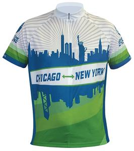 Adventure Cycling Association Chicago - New York Jersey