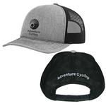 Adventure Cycling Association Grey Trucker Hat