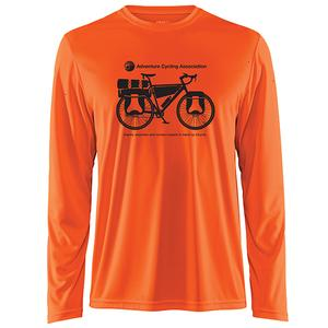 Adventure Cycling Association Craft Active-wear Long Sleeve T-Shirt