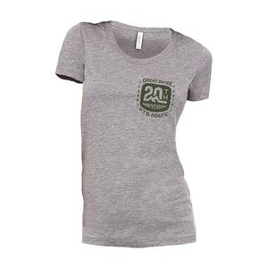 Adventure Cycling Association Great Divide T-Shirt - Women's- 20th Anniversary Edition