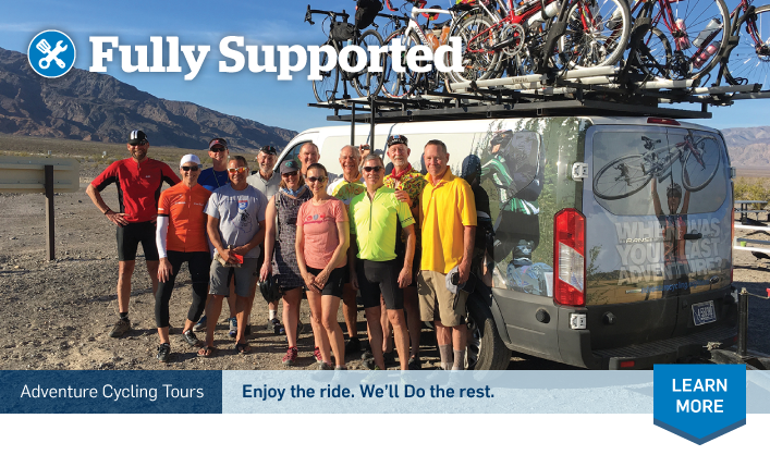 Fully Supported | Guided Tours | Adventure Cycling Association