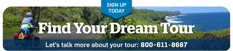 Call to talk with the tours department: 800-611-8687