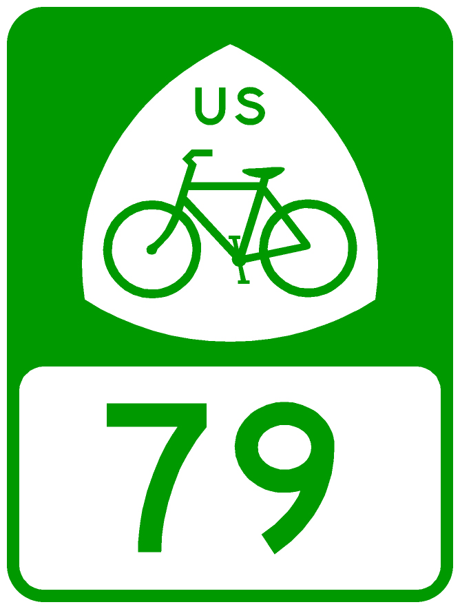 Sign A Us Bike Route Usbrs Implementation Adventure Cycling - Us-bicycle-route-50-map