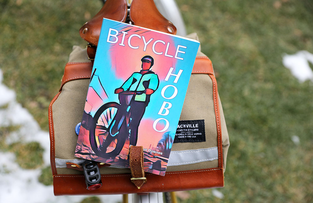 Book review of Bicycle Hobo by Robert Downes