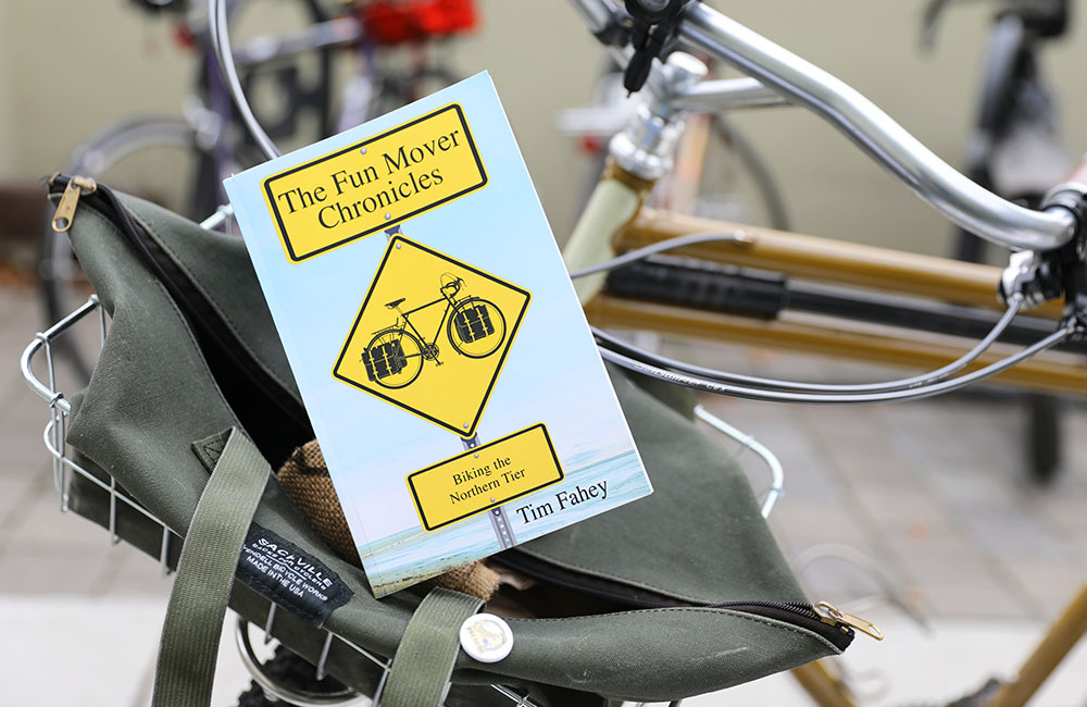 Book review of The Fun Mover Chronicles: Biking the Northern Tier by Tim Fahey