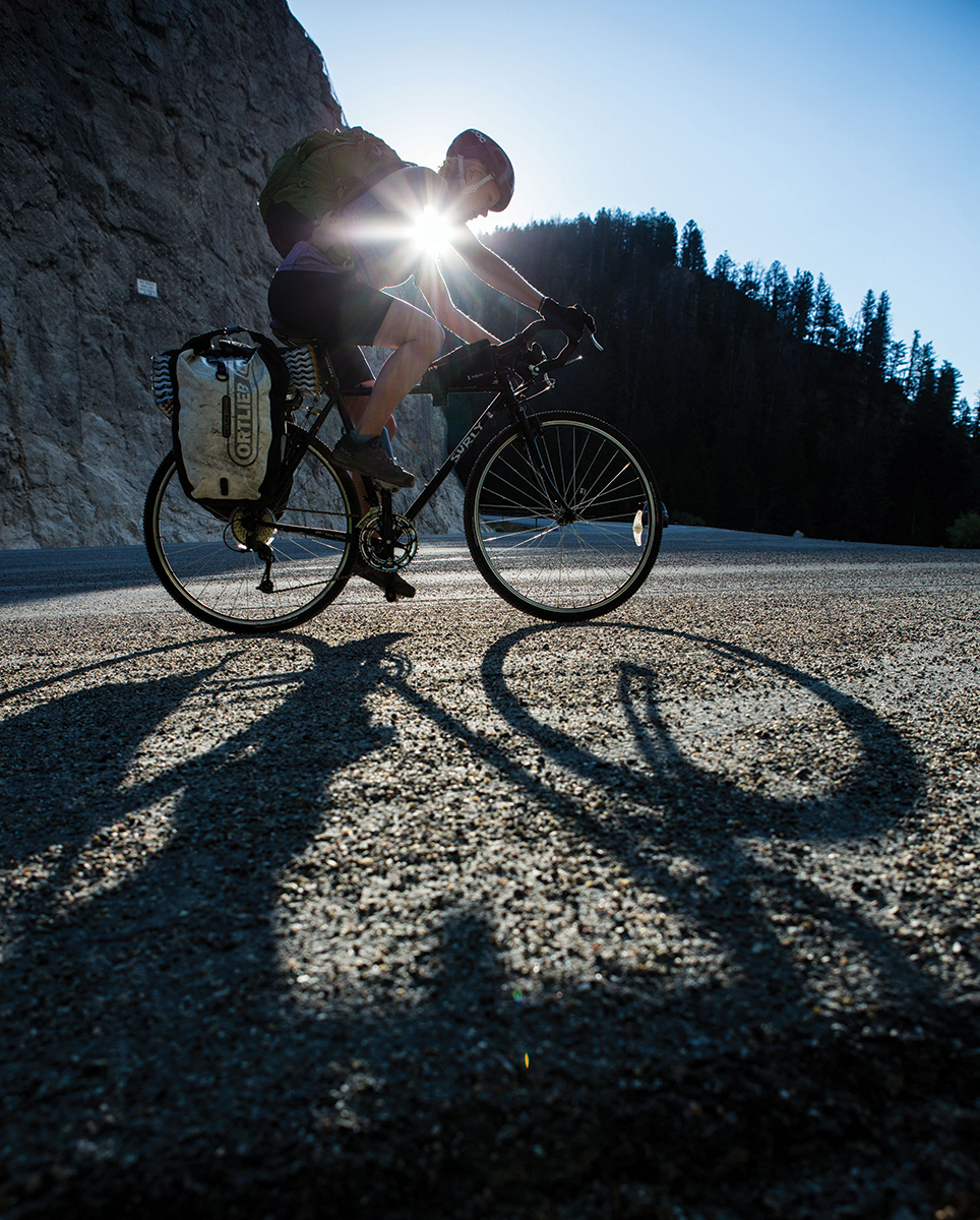 Grinding up the 2,200 feet of elevation from Victor, Idaho, to Teton Pass was the most strenuous part of the Huckleberry Bike Tour, ensure sweets would be earned
