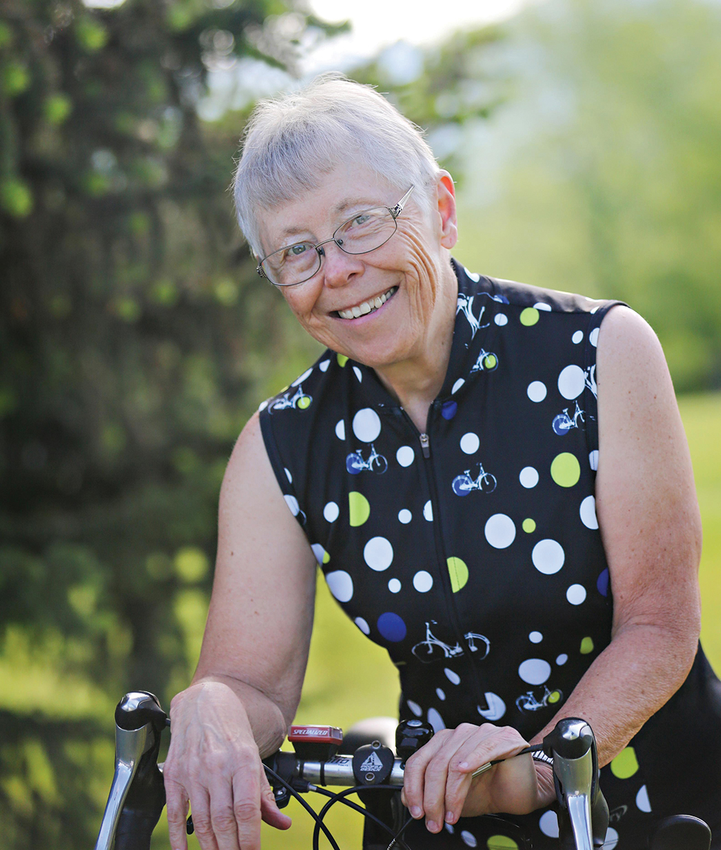 Adventure Cycling life member Fran Stagg