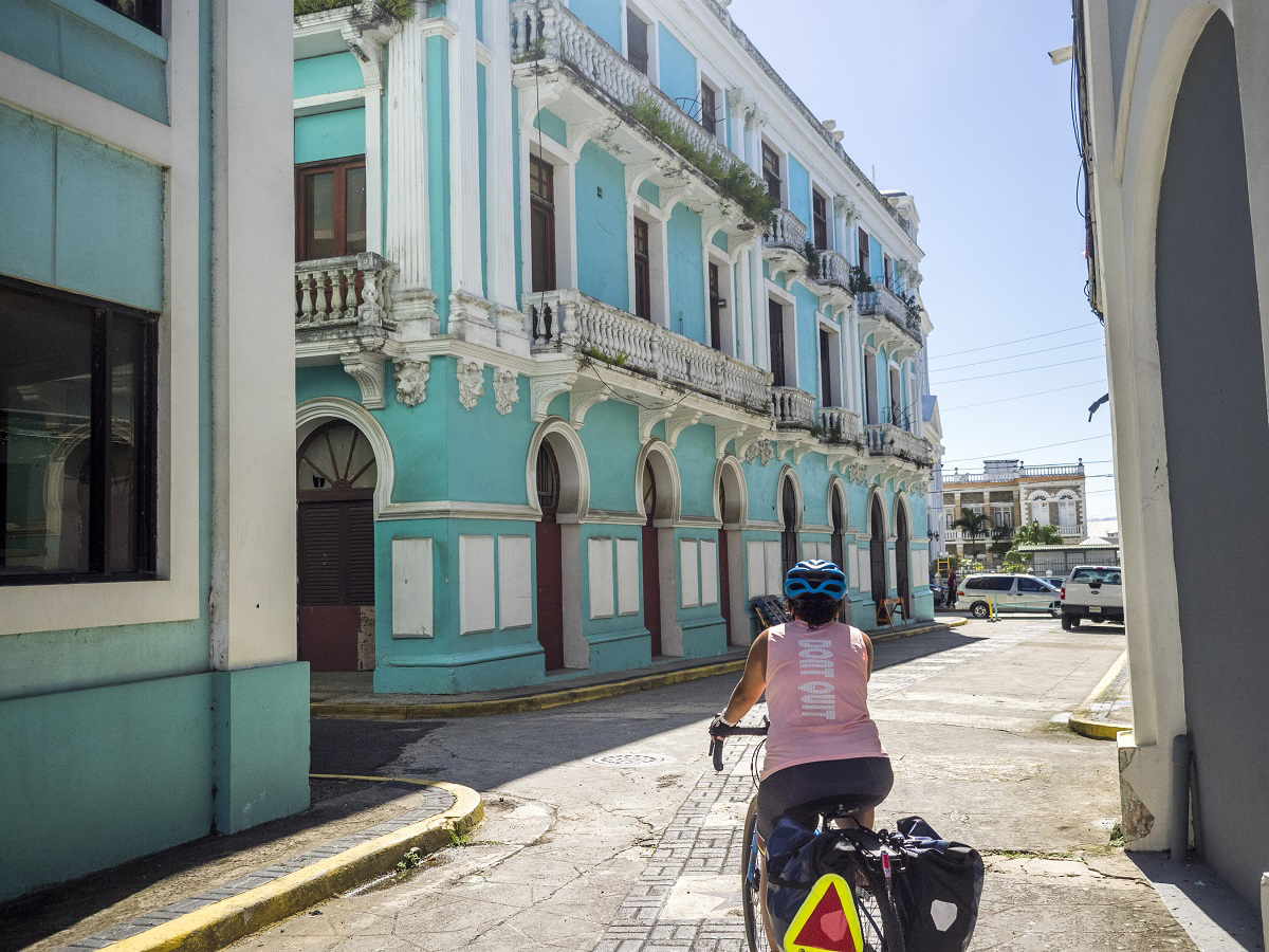 Puerto Rico inn-to-inn guided tour with Adventure Cycling