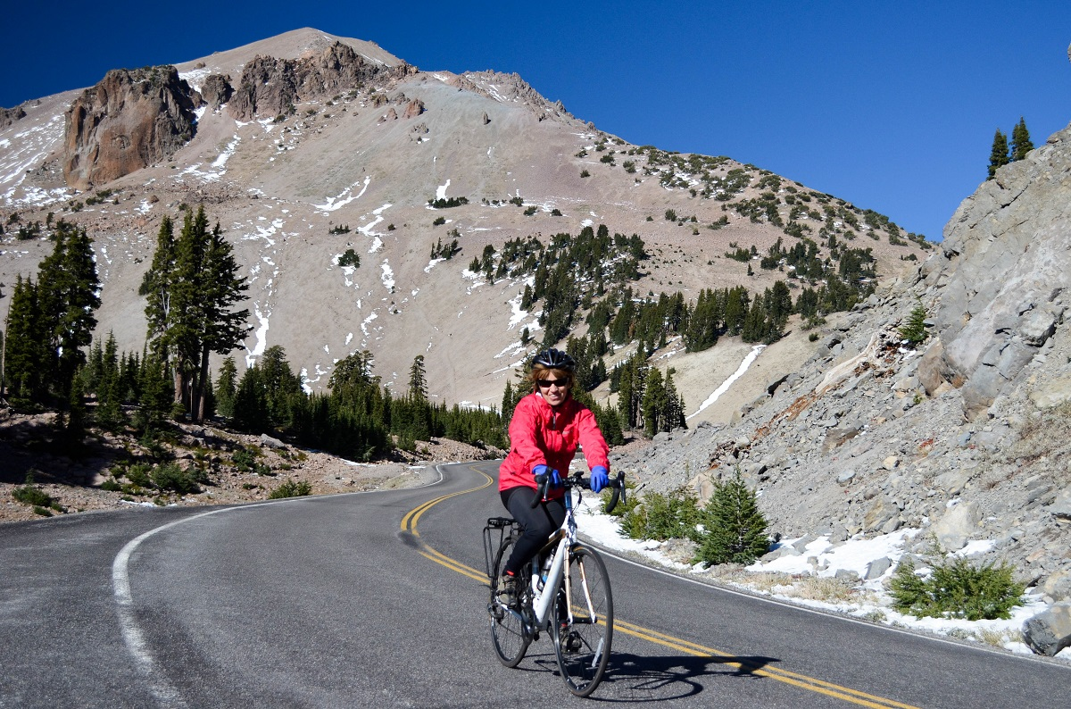 Lassen Volcanic National Park bike ride national park Bike Your Park Day