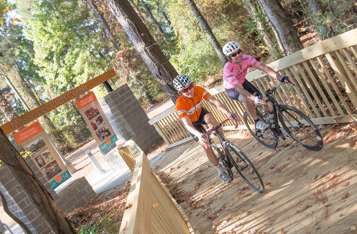 Natchez Trace Parkway bike ride national parks Bike Your Park Day