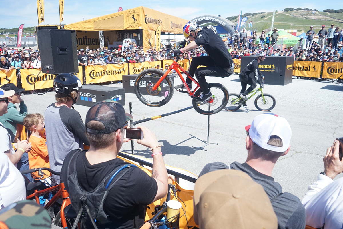 Danny Macaskill's Drop and Roll Show at Sea Otter Classic