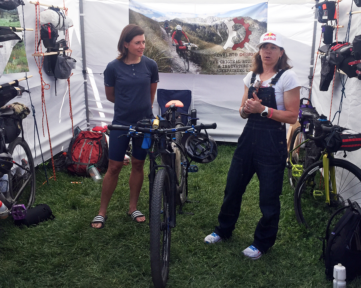 Lael Wilcox and Rebecca Rusch were our favorites at Sea Otter Classic