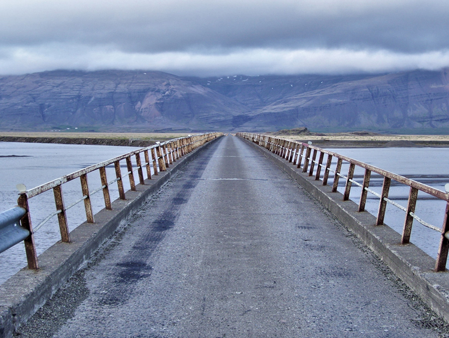 Iceland road by Laura Killingback