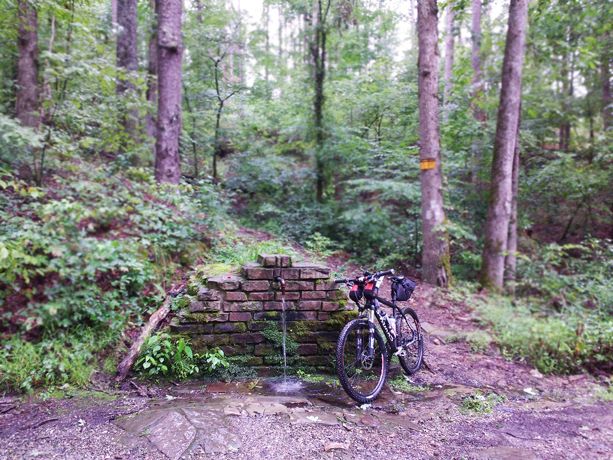 Pipe Spring Arkansas High Country Bicycle Route