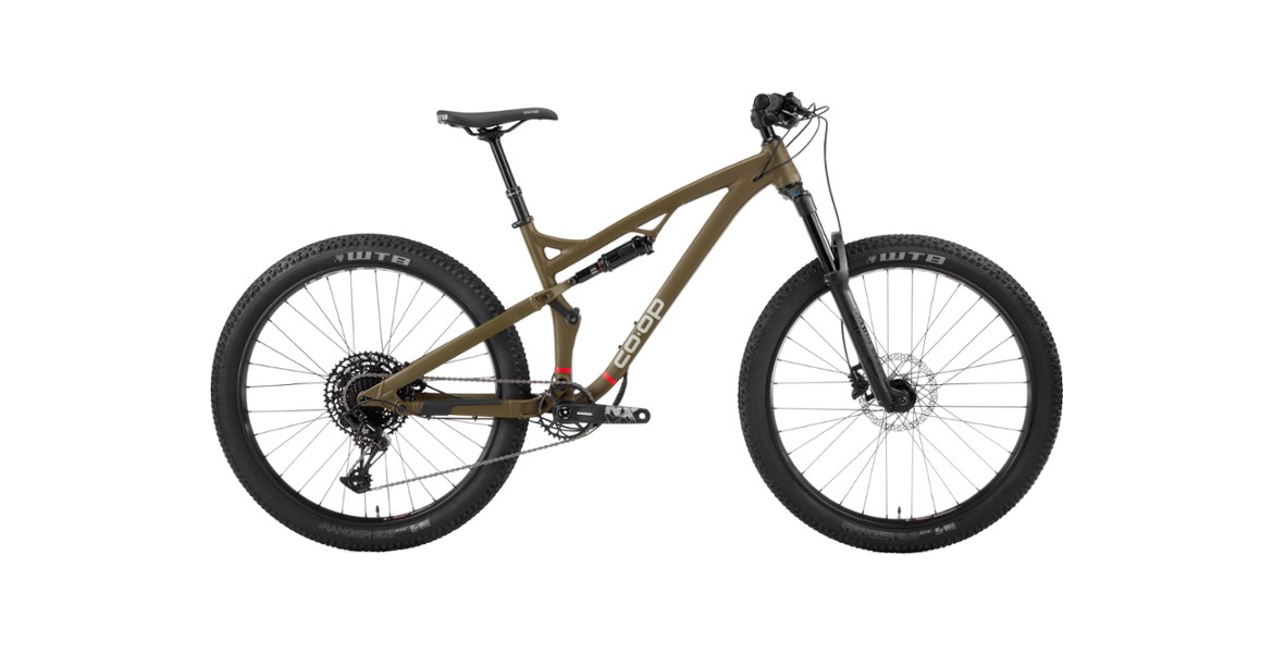 REI's new DRT 3.2 mountain bike