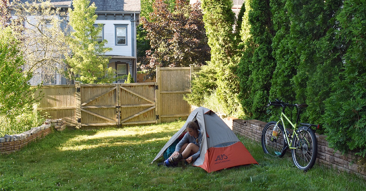 How to Camp in Your Friend's Yard During COVID-19 ...