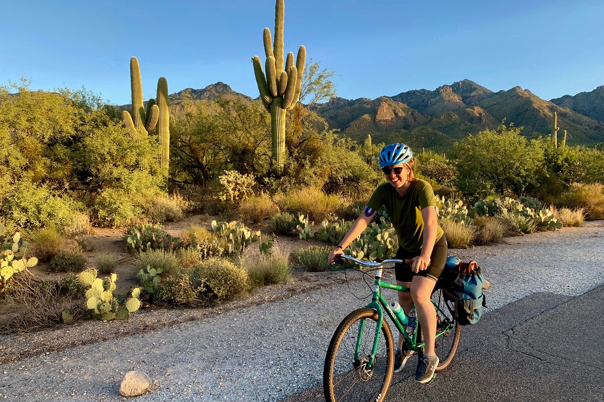 Sabino Canyon by bicycle